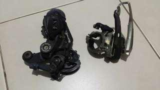 Shimano Tourney 7 speed 1set ( F/R )