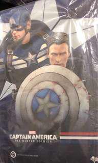 全新未p開封 Hottoys Hot Toys MMS 243 The Winter Soldier Captain America & Steve Rogers 美國隊長