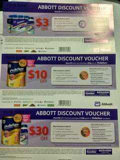Abbott Discount Voucher (Pedisaure)