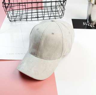 🚚 日韓灰色棒球鴨舌帽