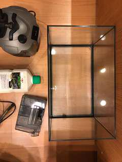 Fish tank and all accessories and filters