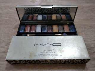 Mac 20 Color Eyeshadow