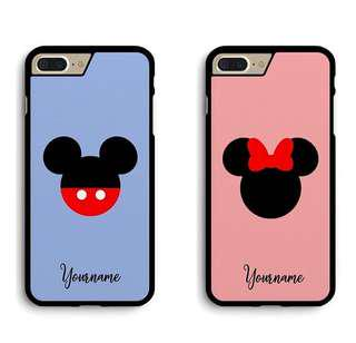 🚚 Mickey and Minnie Couple Cover