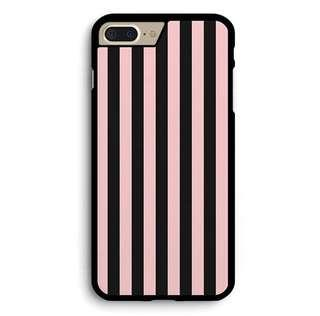 🚚 Pink and Black Stripe Cover