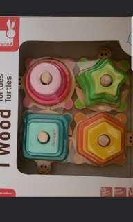 Jabod wooden stacking toys