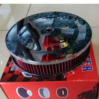 Power Air Filter Caburator 12V Iswara Saga High Quality