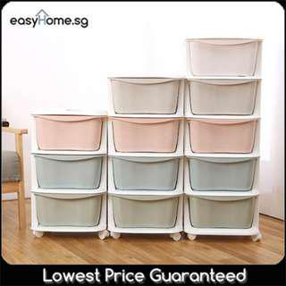 🚚 5 Tier Cabinet- Plastic Drawer Storage Organiser Box