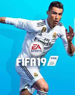 Preorder List for Fifa 19 PS4 and Switch