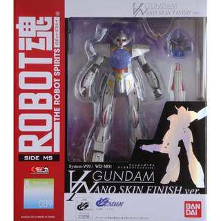 特價 日版 Robot魂 039 ∀ Turn 倒 A 高達 月光碟 Gundam Nano Skin Finish Ver.