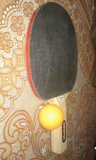 Nimatsu Table Tennis Racket + Ball