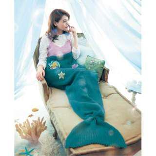 『限時預購⚡️』日本🇯🇵 迪士尼通販 千趣會 美人魚尾巴造型毯 艾莉兒 迪士尼授權正品
