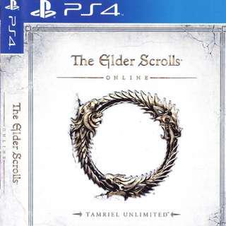Elder Scrolls online ps4