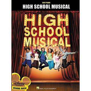 High School Musical Easy Piano Scores
