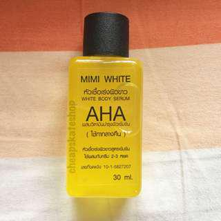 Authentic Mimi White AHA Serum