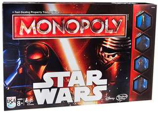 Monopoly Star Wars Board Game (Like New / Played Once)