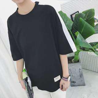 🚚 黑白色短袖T恤