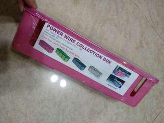 Cable Manager Box Extension Cable Cord BN Pink