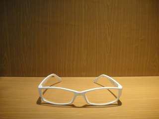 Kacamata Normal Putih