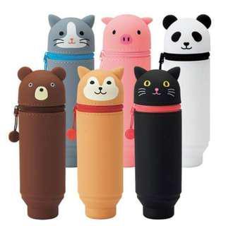 PuniLabo  可水洗矽膠站立 筆袋 / 化妝袋