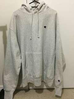 Oxford Grey Champion Hoodie (free shipping nz)