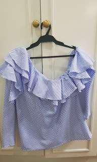 Sided blouse