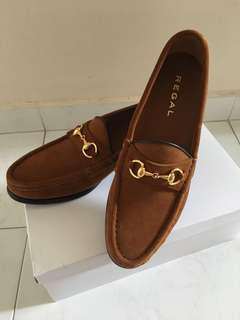 🚚 Regal Brown Suede Moccasin Authentic Japanese Loafers