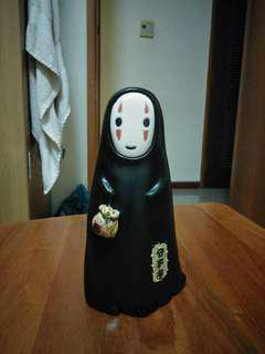 Studio Ghibli Spirited Away No Face double sided figurine/ piggy bank