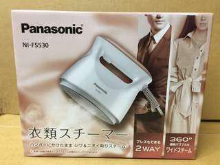 現貨全新 Panasonic 手持蒸氣熨斗 NI-FS530 白色