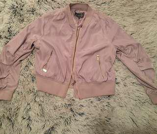 *Berry Bomber Jacket*