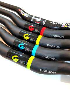 ***In-Stock = Carbon Fiber Handlebar Escooters MTB AM Tempo DYU 31.8mm x 700mm