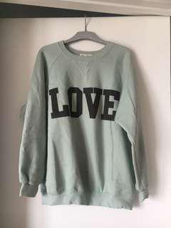 Mint jumper