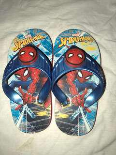 Spiderman slippers with light