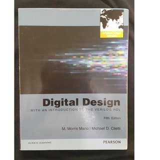 《Digital Design International Editions》ISBN0273764527