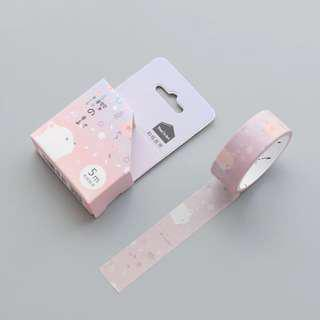 Pink Bear Washi Tape