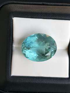 24.2克拉 天然海水藍寶石