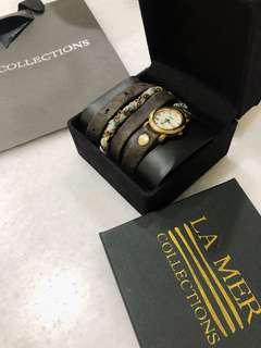 LA MER watch collections 100% ORI
