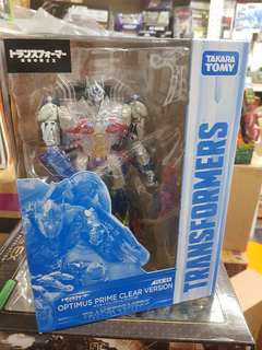 tlk - ex transformers limited optimus prime clear version the last knight japan exclusive