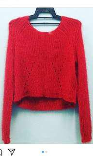 H&M Knitted Crop Top