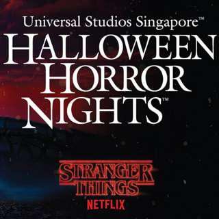 2 tickets Halloween Horror Nights 8