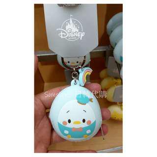 🚚 限量 日本 迪士尼disney 維尼 奇奇 唐老鴨 矽膠 造型 蛋形 鑰匙圈 零錢包