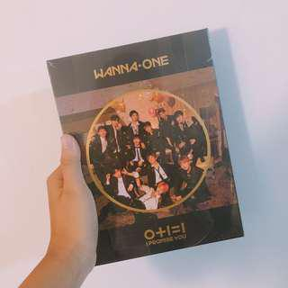 🗞[wts / wanna one] i promise you instock sealed album