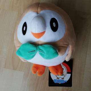 🆕💯 Pokemon Center's Rowlet Plush