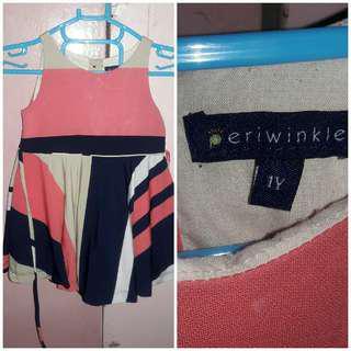 Periwinkle dress 18mos