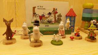 Moomin Wooderful life木質公仔