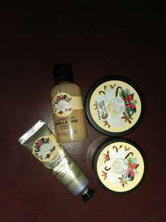 the body shop vanilla chai set