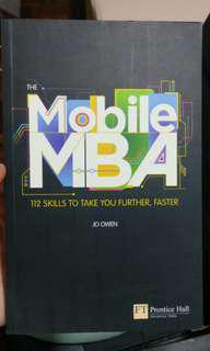The mobile MBA, 112 skills to take you further, faster