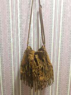 H&M Fringed Bag