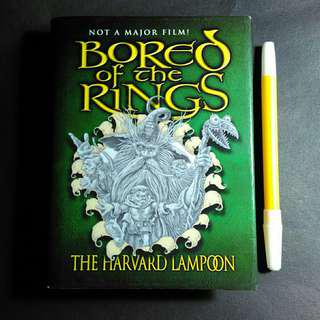 bored of The rings : A Parody