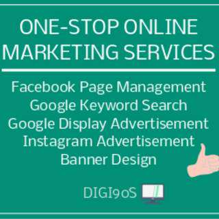 One-stop online marketing services