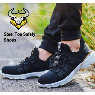 🚚 Steel Toe Safety Shoes